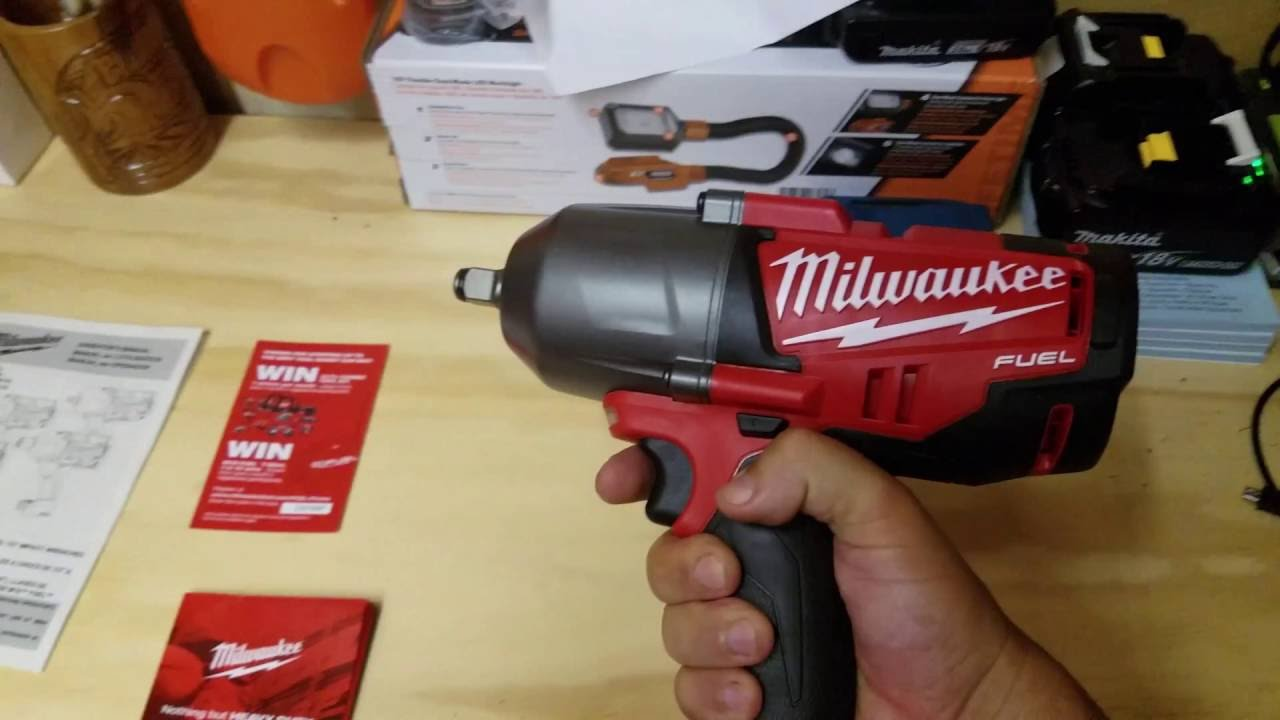 Milwaukee Fuel 18v High Torque Impact Wrench Review In 4k 2763 20