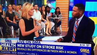 Thank you to GMA & Dr. J. Ashton Stroke Awareness !! ~ Know the signs !