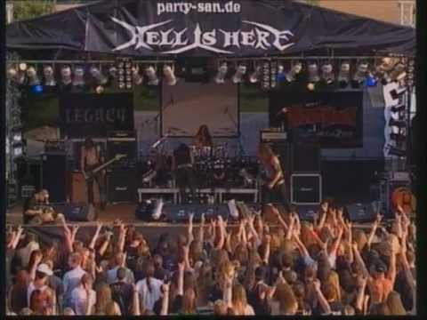 Desaster live Party San Open Air 2003