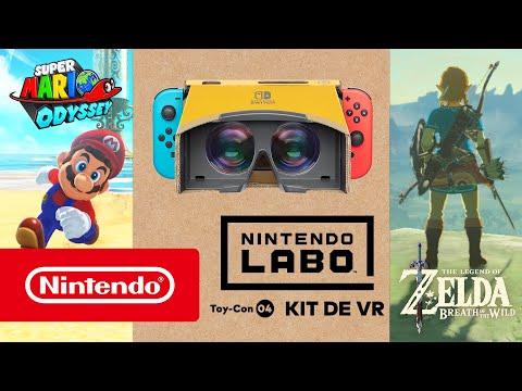Super Mario Odyssey y The Legend of Zelda: Breath of the Wild –¡Realidad virtual a lo Nintendo Labo!