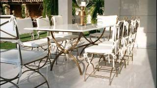 видео Кованная мебель для сада