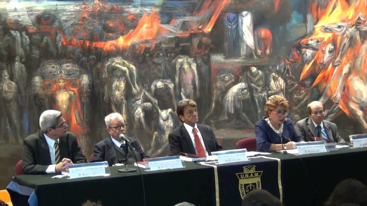 """Matrimonio Derecho Romano Unam : Presentación de libro """"derecho romano tomos i y ii"""