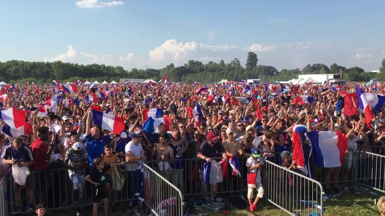 Tours : 20.000 supporters en liesse à la fan zone de la Gloriette