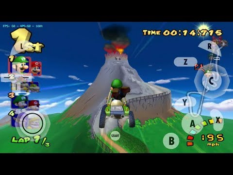 Play Game Mario Kart Double Dash!! Grand Prix Star Cup | Dolphin MMJ Emulator Android