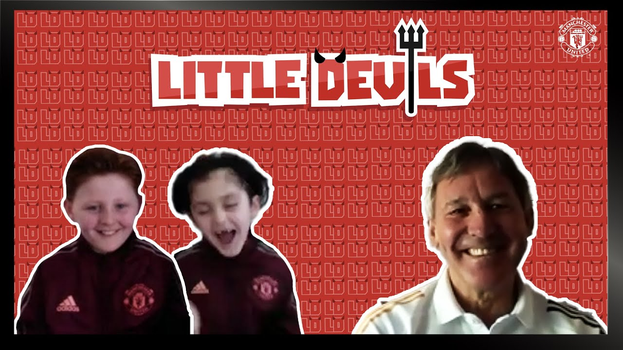 Bryan Robson Joins The Little Devils | Manchester United | Episode 4 | NEW SERIES