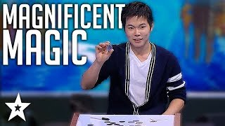 AMAZING Magician Leaves Judges Confused On Asia's Got Talent   Got Talent Global