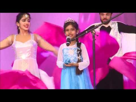 Frozen song singing 6 years old little princess Aan :)