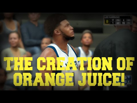 NBA 2K17 MyCareer | The Creation of Orange Juice!