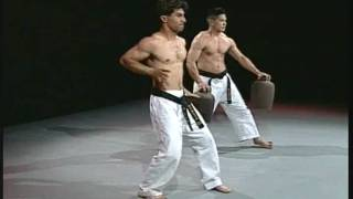 Sanchin kata test in Uechi-ryu