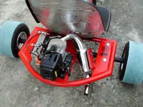 Drift Trike Com Motor Criciuma Youtube