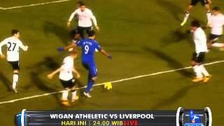 Barclays Premier League : Wigan Athletic vs Liverpool di @Globaltvseru