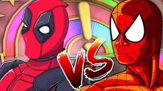 SPIDERMAN VS DEADPOOL | Spiderman Shattered Dimension Gameplay Walkthrough PART 7