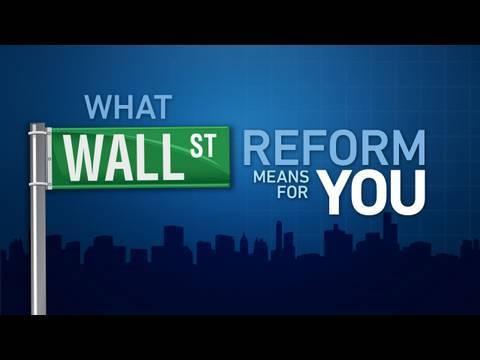 What Wall Street Reform Means for You