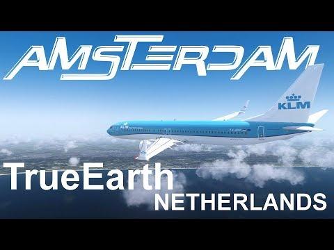 [P3Dv4] AMSTERDAM || ORBX TrueEarth NETHERLANDS