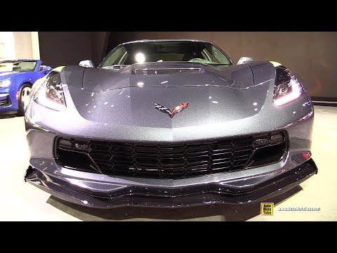 Chevrolet Corvette Grand Sport – Exterior and Interior Walkaround –  LA Auto Show