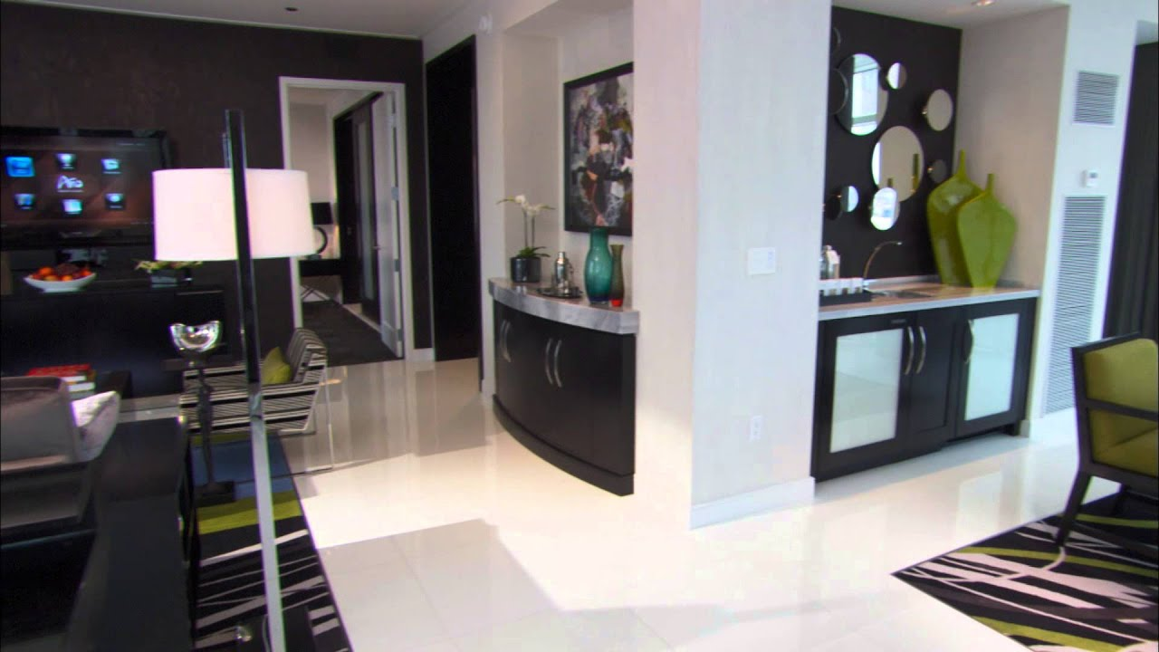 ARIA Las Vegas Sky Suites One Bedroom Penthouse Living ...
