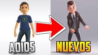 OFICIAL | ASÍ SERÁN LOS NUEVOS AVATARS DE XBOX !