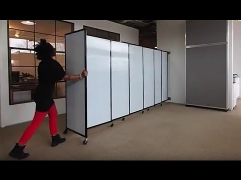 Replace Accordion Doors With a Sliding Partition Wall