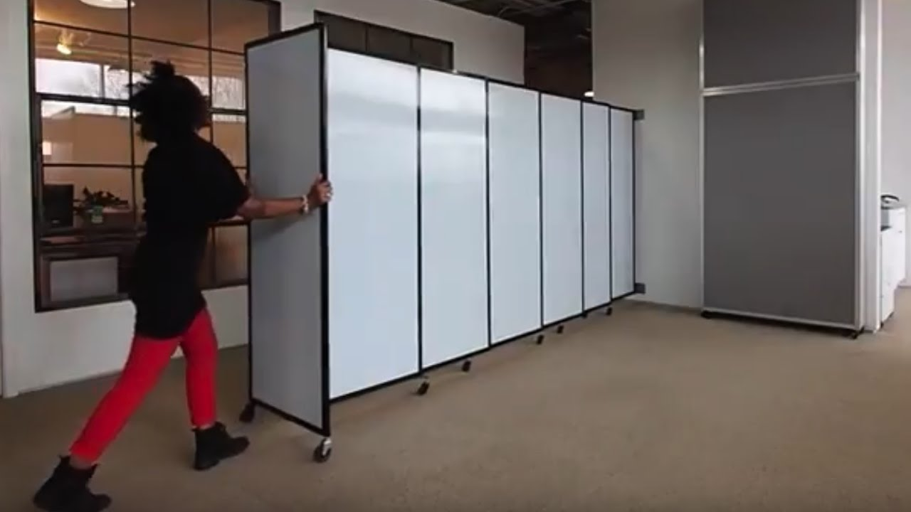 Replace Accordion Doors With A Sliding Partition Wall Youtube