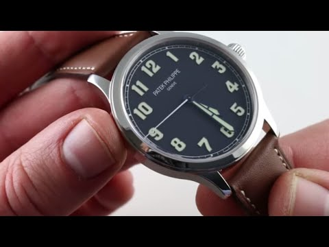 Patek Philippe Limited Edition Pilot's Calatrava 5522A-001 Luxury Watch Review