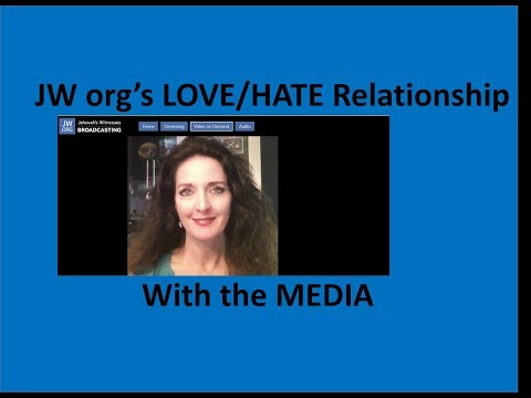 JW org's Love/Hate Relationship with the Media - LEAKED video discussion