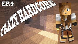 NIERÓWNA WALKA Z ZOMBIE | Crazy hardcore #4 | Minecraft Hardcore 1.14.4