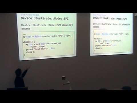 Bus Pirates and Perls - electronics hackery