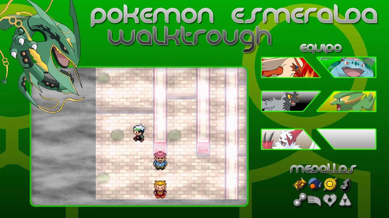 pokemon esmeralda walktrough 8 lavacalda y su gimnasio