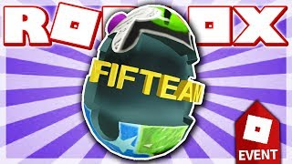 HOW TO GET THE FIFTEAM EGG!! *All 11 Puzzle Pieces Tutorial* (ROBLOX EGG HUNT 2018 EVENT)