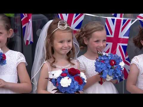 ITV coverage of Flakefleet Royal Wedding