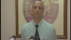 News Conference: City Manager of Punta Gorda addresses charges against officer, police chief