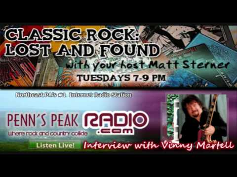Vince Martell of Vanilla Fudge on Classic Rock: Lost & Found! Part 1/2