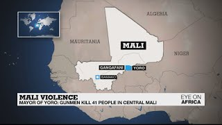 Local mayor says 41 people killed in latest attack in central Mali