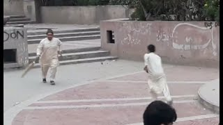 Street cricket in Pakistan peshawar |cricket funny moments |cricket
