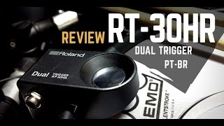 Trigger Roland RT-30HR Dual Review PT - BR