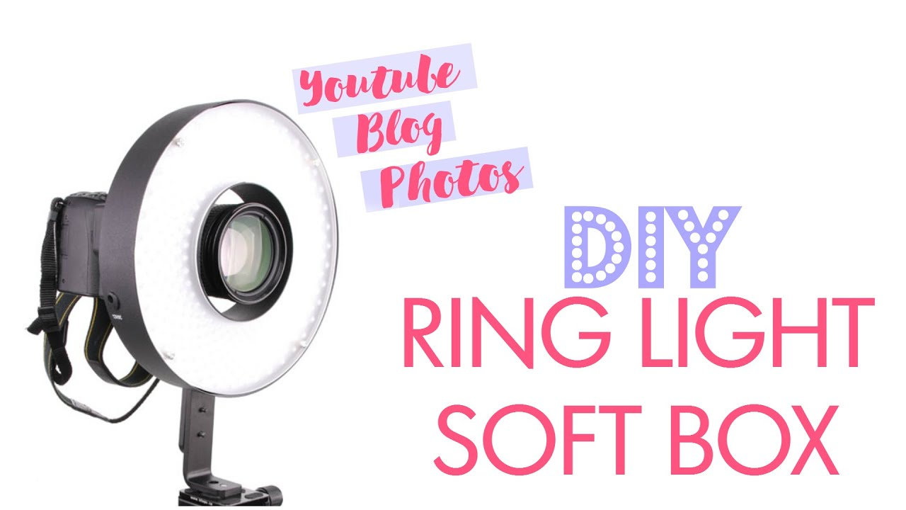 Diy Spot Eclairage Special Youtube Photos Ring Light