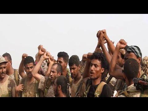 الشرعية مدعومة من التحالف تحرر مواقع بين حرض وميدي  - نشر قبل 2 ساعة