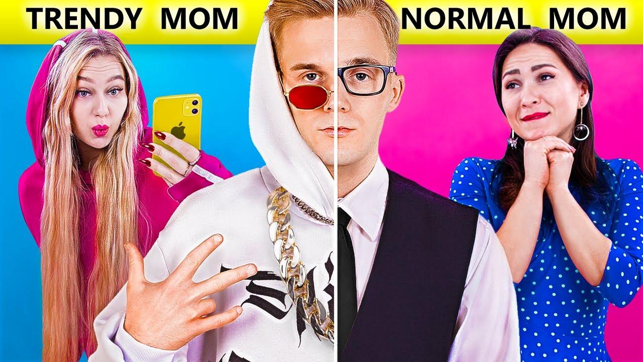 Types de Mamans ! Maman Normale vs Maman Branchée