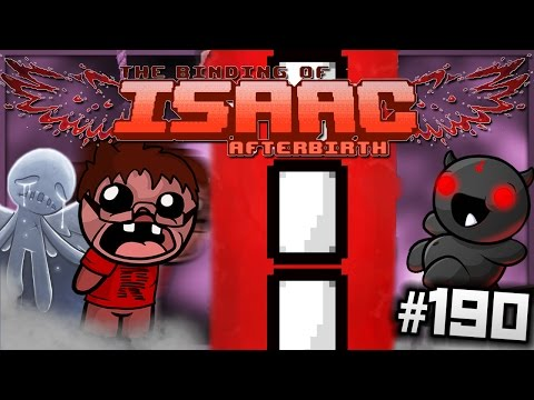 The Binding of Isaac: Afterbirth - BEAMS OF DARKNESS! (Episode 190 - Greed Mode)