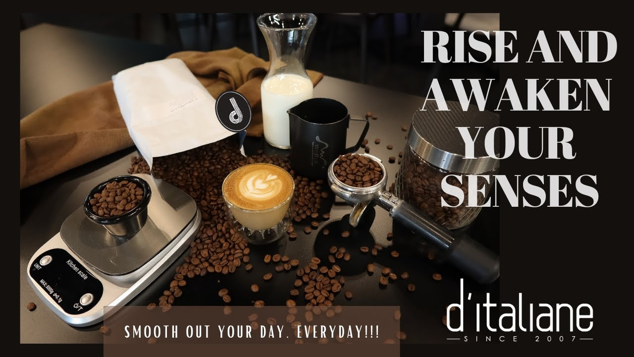 GOOD MOOD-GOOD COFFEE @D'ITALAINE