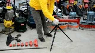 Как согнуть трубу? Трубогиб гидравлический.(Демонстрация работы трубогибом, как легко самому гнуть трубы. Технический специалист НСК Прокат показывае..., 2014-02-16T04:44:04.000Z)