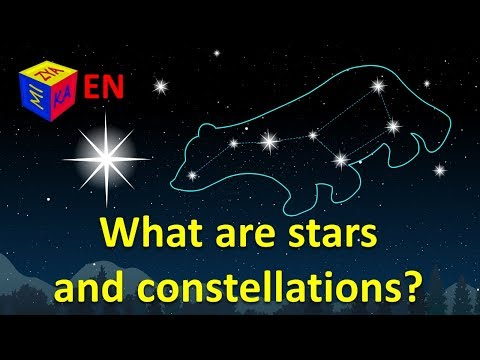 What Are Stars And Constellations? Why Questions For Kids. Educational Cartoon