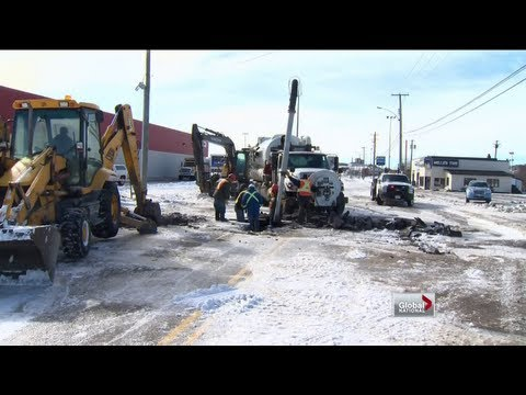 Global National - The Maritimes digs out