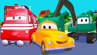 拖车汤姆在汽车城 ???? 儿童卡通片 周末特辑6