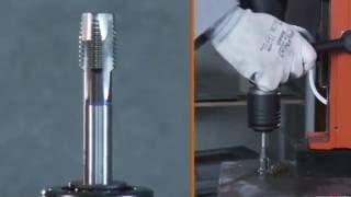 Kernbohren mit FEIN: Gewindeschneiden