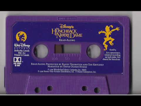 Disney's Hunchback Of Notre Dame Cassette