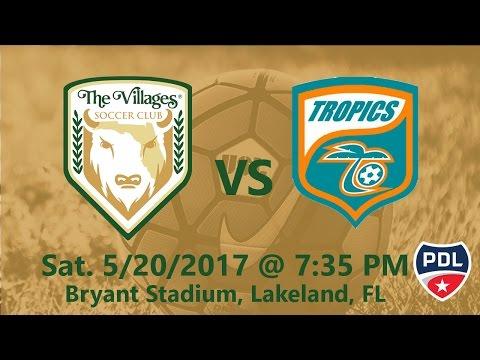 The Villages SC vs Lakeland Tropics