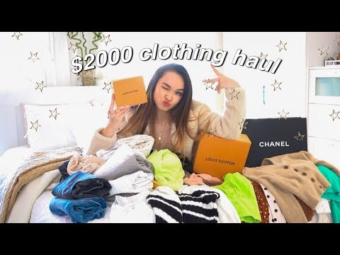 HUGE spring try-on clothing haul ✰ 2019