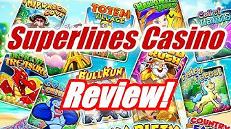 Superlines Online Casino 🍒🍒🍒 Review! Login Lobby! Bonus Code No Deposit Avis Bonus Sans Depot
