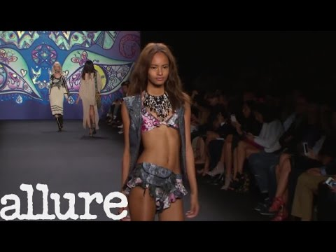 The Look of Anna Sui Spring 2015 - Allure